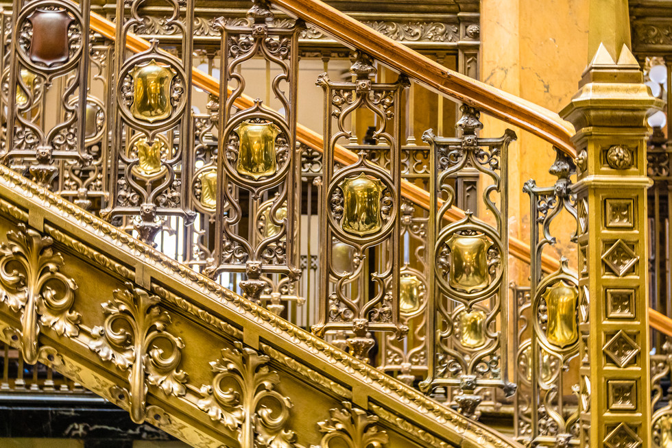 Stairs at Post Office
