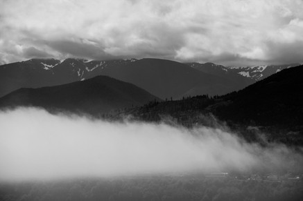 Olympic Mountains 1