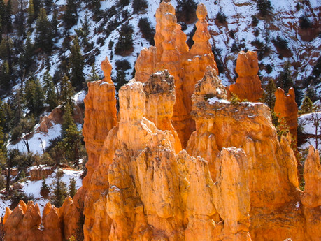 Early Snow at Bryce Canyon 2