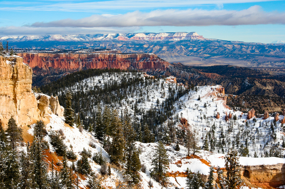 Early Snow at Bryce Canyon 4