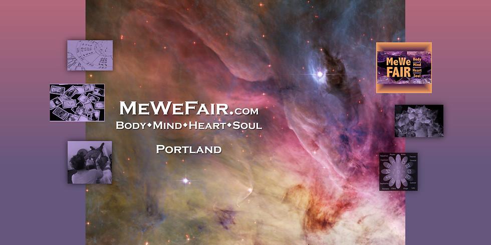 MeWe Metaphysical-Wellness Fair, 40 Talks/Panels, 75+ Booths