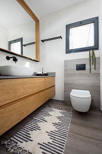 ארון אמבטיה מפורניר מרחף ותלוי