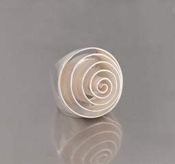 Außergewöhnlich Ring aus Silber