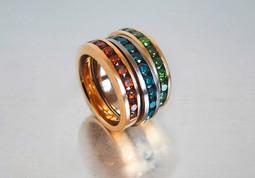 Ring Gold Brillanten
