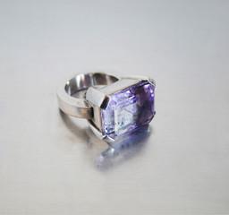 Ring Silber Amethyst