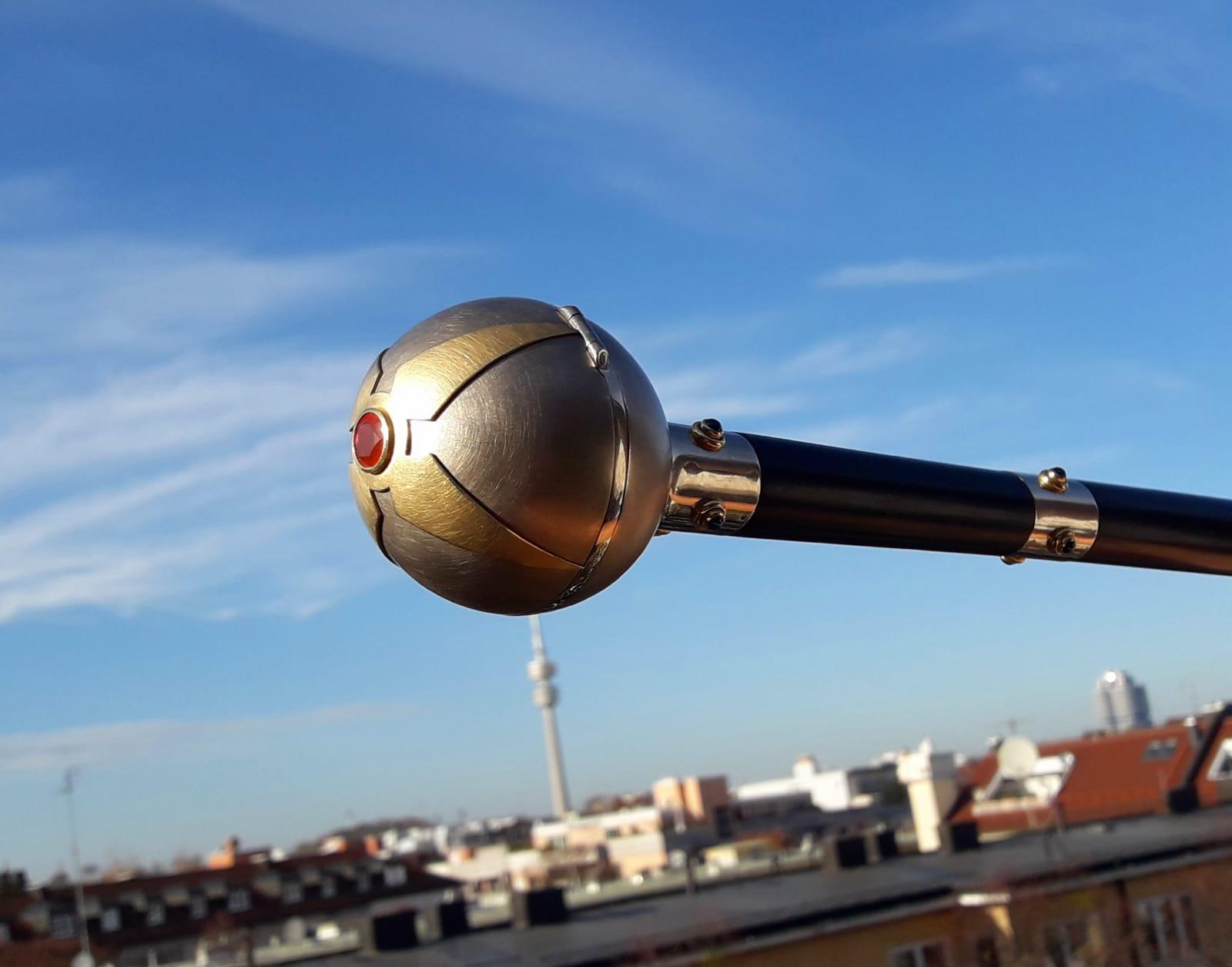 Spazierstock aus Gold Dandy Männerschmuck München