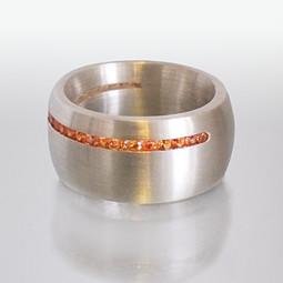 Ring Silber Saphir