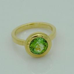 Ring Gelbgold Turmalin