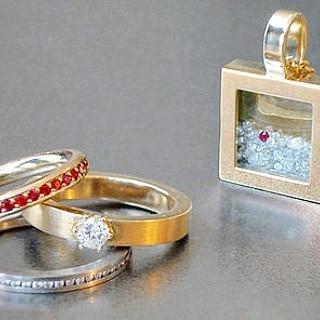 Weihnachtsgeschenke 2019 Nachhaltigkeit Brillanten Gold Rubin Anhänger Ringe Personalisierte Geschenk individuelle Geschenk Tochter Geschenk Hochzeitsgeschenk