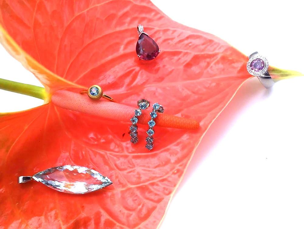 Geschenke 2019 Wunderschön handgemacht Schmuck von JF Das Atelier München Geschenke für Mutter Tochter Freundin ausgefallene Geschenkideen