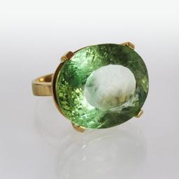 Ring Gelbgold Beryll