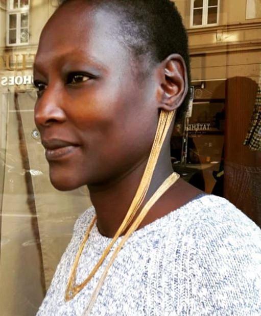 Ohrring Unikat Trend Stunning Tolle Ohrringe Beste Ohrringe 2019 Weihnachtsgeschenk Gold Kette Originell Hingucker Kunst Schmuck Unikat Luxus Wertvoller Geschenk