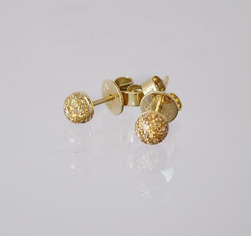Ohrstecker Brillanten Gold