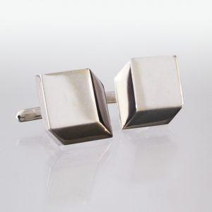 Manschettenknöpfe Silber