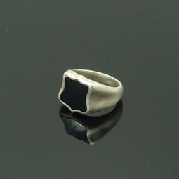Ring Silber Onyx