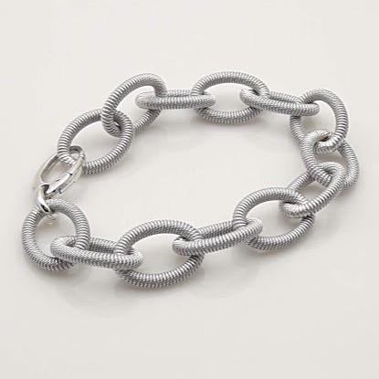 Armband Silber rhodiniert