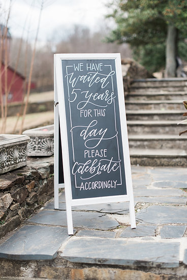 White Vertical Chalkboard