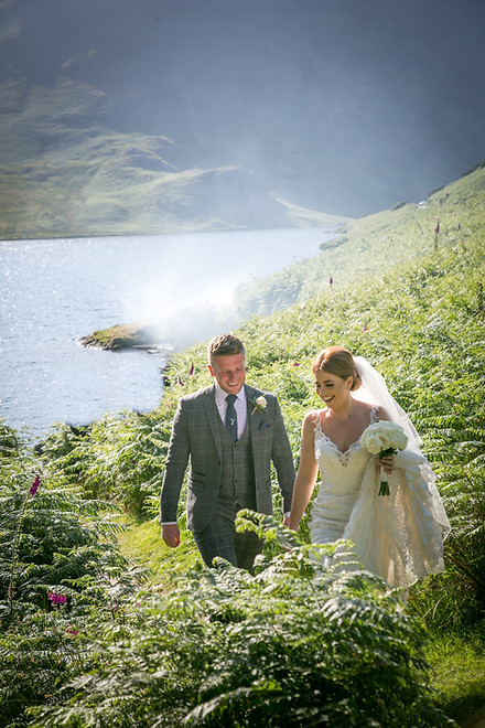 Wedding photography by the Lake in the Lake District