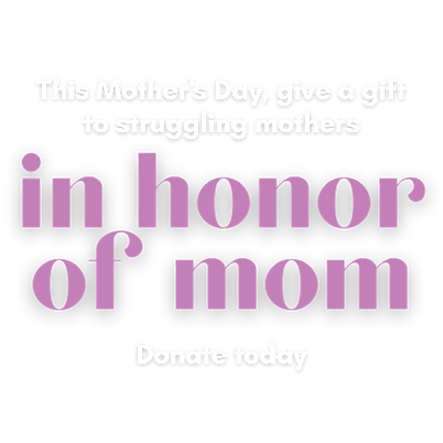 This Mother's Day, give a gift to strugg