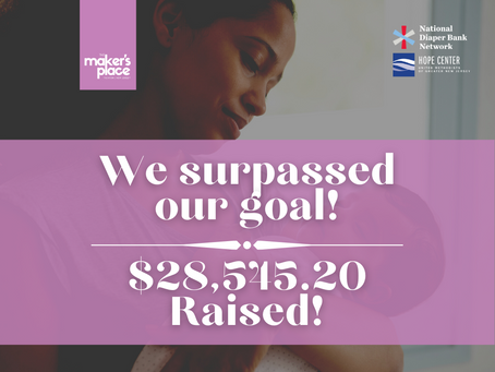 Here's How Much We Raised!
