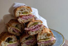 Rosemary Ham & Gruyere Sandwiches