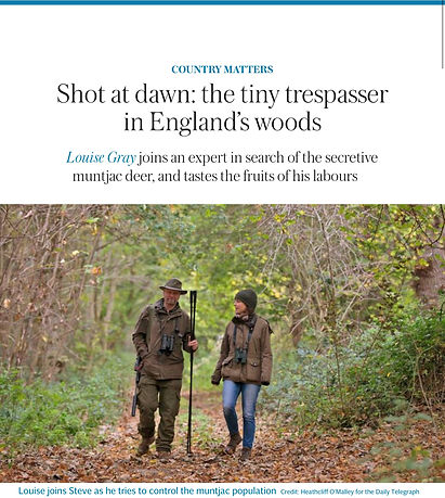 SundayTelegraph Feature with Louise Gray