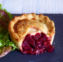Beetroot & Goats Cheese Pie