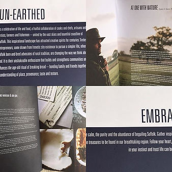 We are delighted to be featured in the beautiful UN-EARTHED Book which was released in September 2016