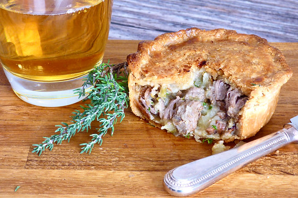 Wild Boar, Cider & Apple Pie