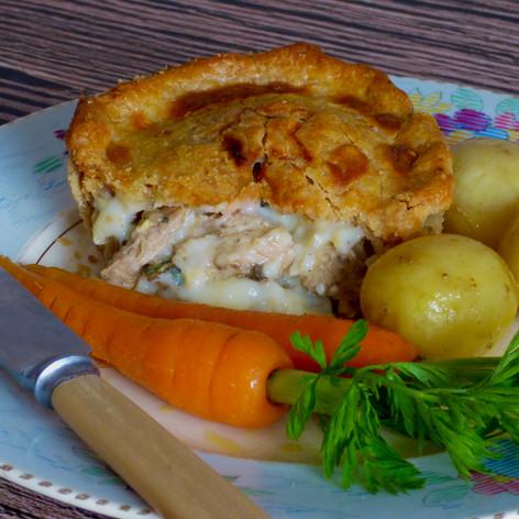 Pheasant & Chestnut Pie