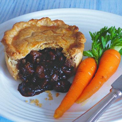 Venison Stout & Chestnut Pie