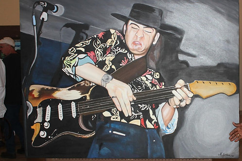 """STEVIE RAY at STICKS"" - Original"