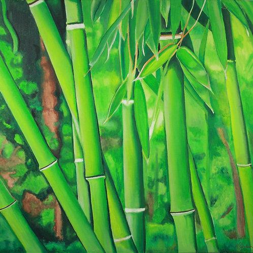"""Tu' BAMBU'"" - Canvas Print"