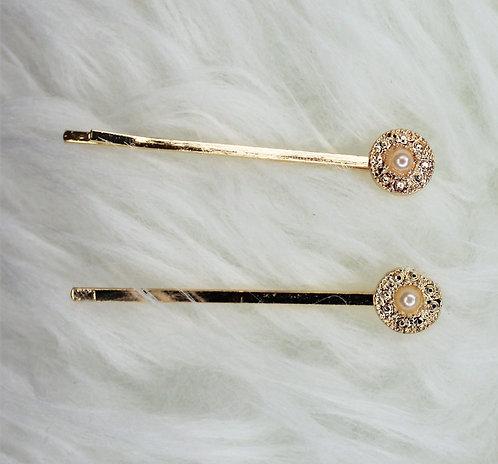 Gold Coin Pin Set
