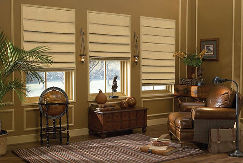 Soft Treatments - Brown Antique Living R