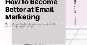 Tips on How to Become Better at Email Marketing