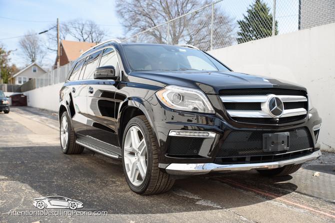 Mercedes GL550 Elite Enhancement + Premium Nano Coating