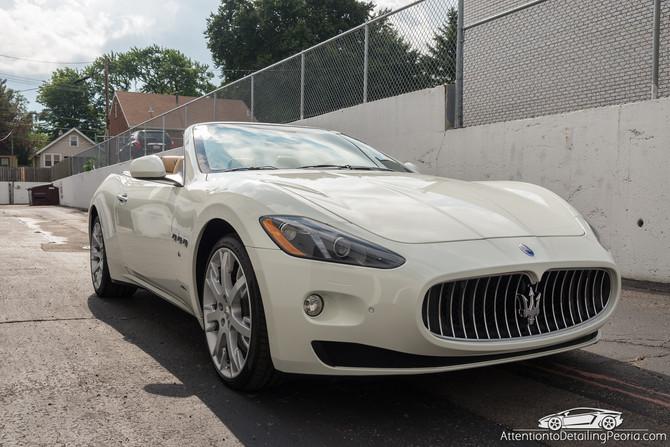 2014 Maserati Granturismo - Premium Enhancement Service