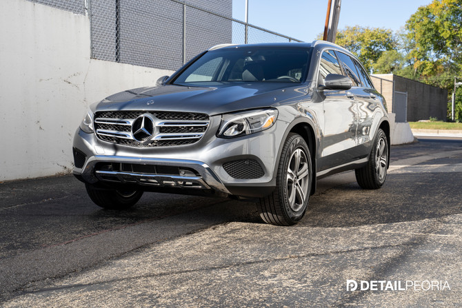 2019 Mercedes GLC 300 New Car Prep, Clear Bra, and Ceramic Coating