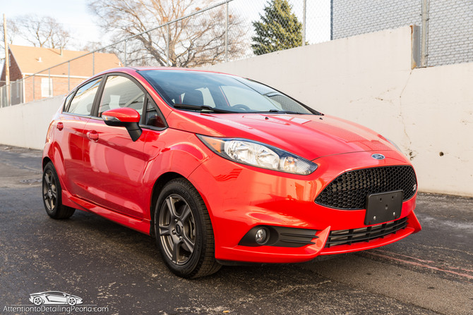 2016 Ford Fiesta ST - New Car Enhancement & Nano Coating