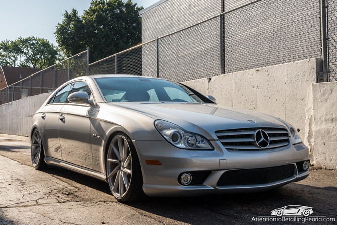 2008 Mercedes CLS 63 AMG - Premium Exterior Enhancement & Premium Wheel Services