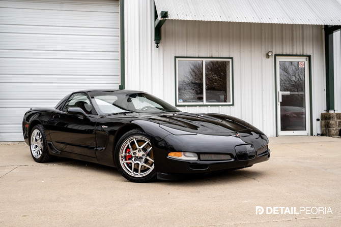 2002 Corvette Z06 - Elite Enhancement, Ceramic Coating