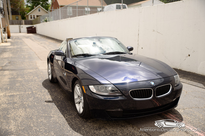 2006 BMW Z4  Enhancement + Premium Interior Service