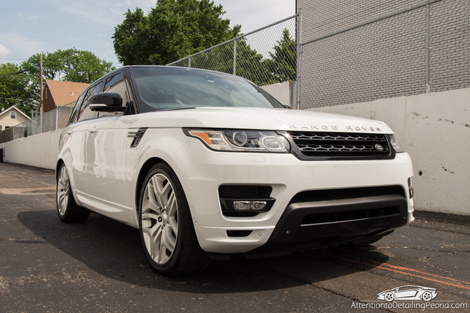 2014 Range Rover Autobiography - Paint Correction + Premium Enhancement Service + Wheel Nano Coating