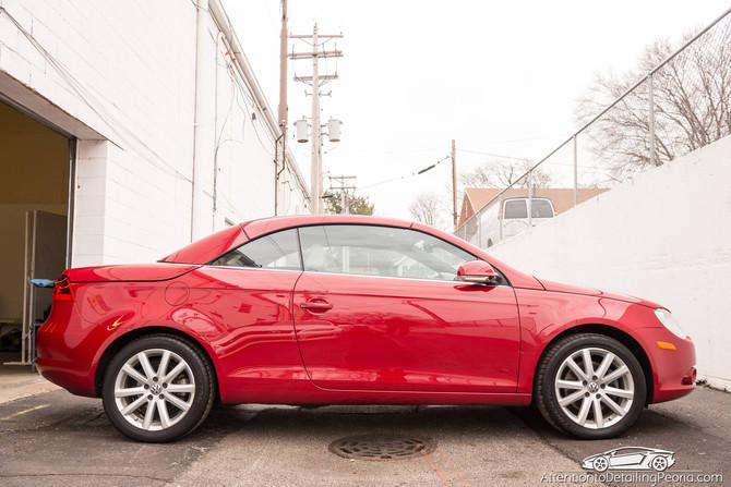 2007 VW EOS - Key Scratch Repair & Premium Enhancement