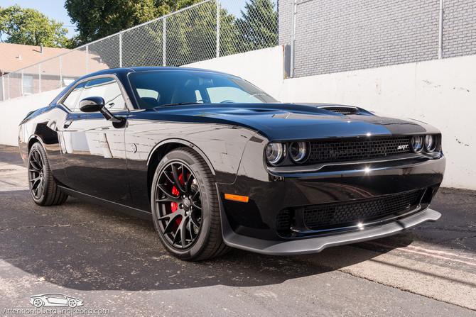 2016 Dodge Challenger Hellcat - Elite Enhancement, Elite Nano Coating, Premium Wheel Service, Glass