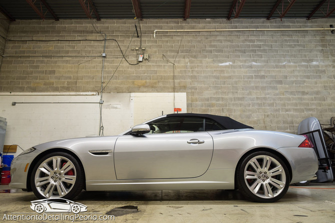 2012 Jaguar XKR - Paint Correction & Enhancement Service