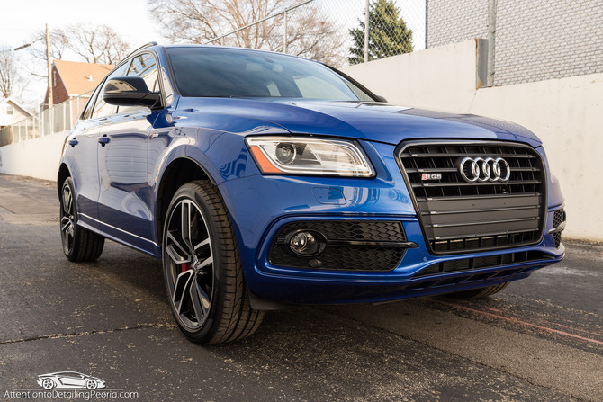 2017 Audi SQ5 - New Car Enhancement & CQuartz Finest