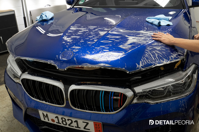 2018 BMW M5 - Clear Bra