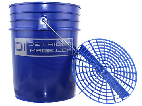 5 Gallon Bucket and Grit Guard